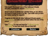 Holiday: A Haunting in Hollowed Woods