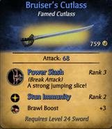 Bruiser's Cutlass