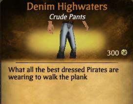 Denim Highwaters