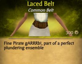 Laced Belt