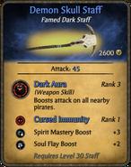 Demon Skull Staff
