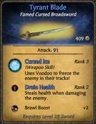 Tyrant Blade