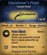 Executioner's Pistol