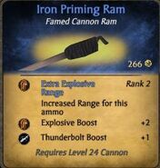 Iron Priming Ram