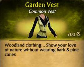 Garden Vest
