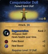 Conquistador Doll