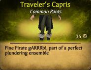 Travelers Capris
