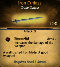 Crude Items