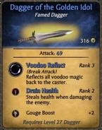 Dagger of the Golden Idol
