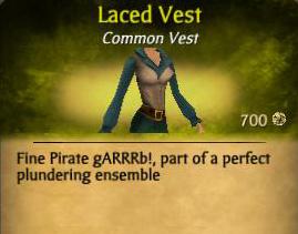 Laced Vest
