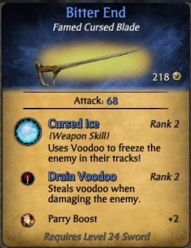 Cursed Blades of El Patron
