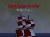 Navy Man-O-War