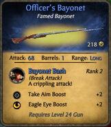 Officer's Bayonet