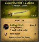 Swashbuckler's Cutlass Card.png