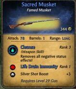 Sacred Musket