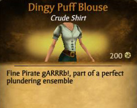 Dingy Puff Blouse