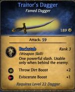 Traiter's Dagger