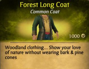 Forest Long Coat