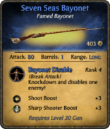 Seven Seas Bayonet