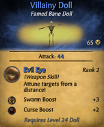 Villainy Doll