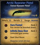 Arctic Repeater Pistol