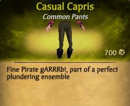 Casual Capris