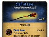 Staff of Lava
