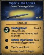 Viper's Den Knives