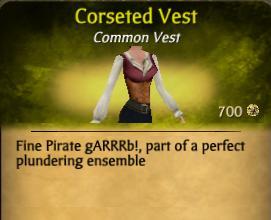 Corseted Vest