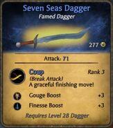 Seven Seas Dagger