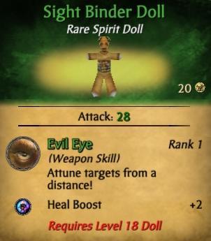 Sight Binder Doll