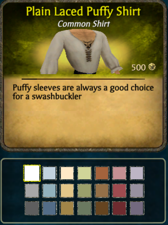 Laced Puffy Shirt