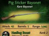 Pig Sticker Bayonet