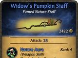 Widow's Pumpkin Staff