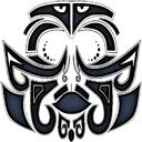Tattoo maori face copy