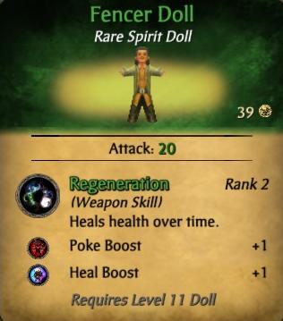 Fencer Doll