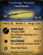 Frostedge Musket