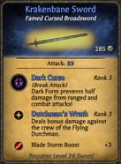 Krakenbane Sword