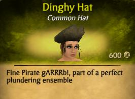 Dinghy Hat