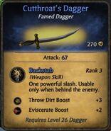 Cutthroat's Dagger