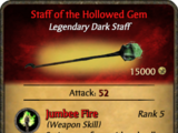 Staff of the Hollowed Gem