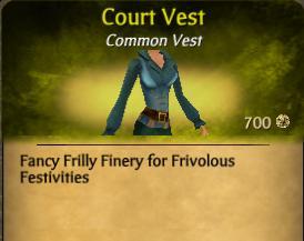 Court Vest