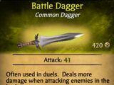 Battle Dagger