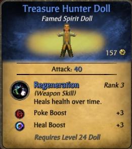 Treasure Hunter Doll