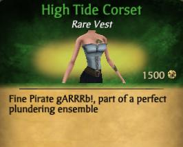 High Tide Corset