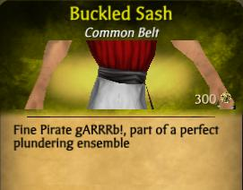 Buckled Sash