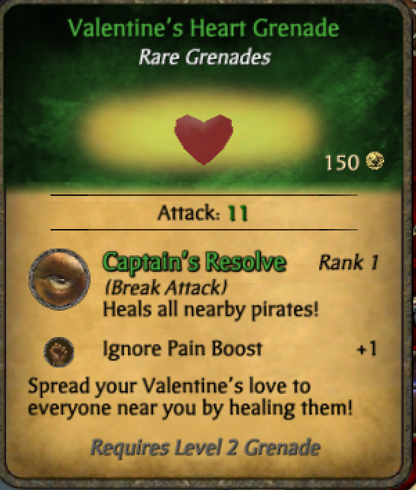 Holiday: A Pirate Valentine