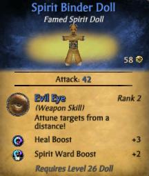 Spirit Binder Doll