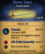Divine Sabre