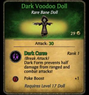 Dark Voodoo Doll